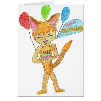 ANIME BIRTHDAY CARD