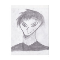 Anime Boy Canvas Print