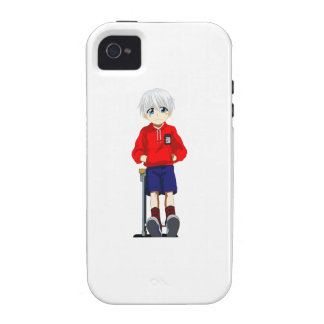 Anime Boy Case-Mate iPhone 4 Cases