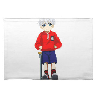 Anime Boy Cloth Placemat