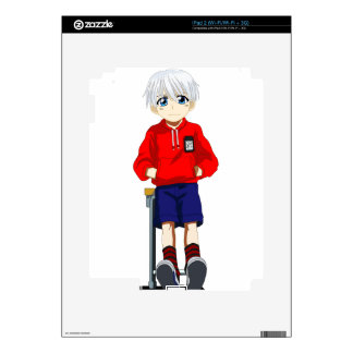 Anime Boy Decal For The iPad 2