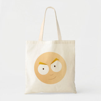 Anime Boy Face - Budget Tote Budget Tote Bag