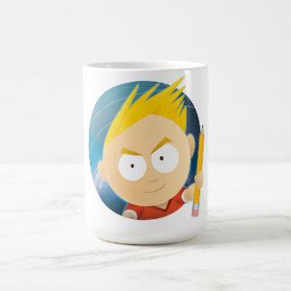 Anime Boy Head - Classic White Mug
