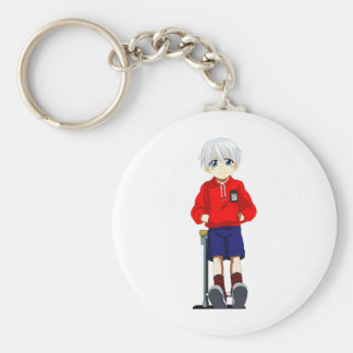 Anime Boy Keychain