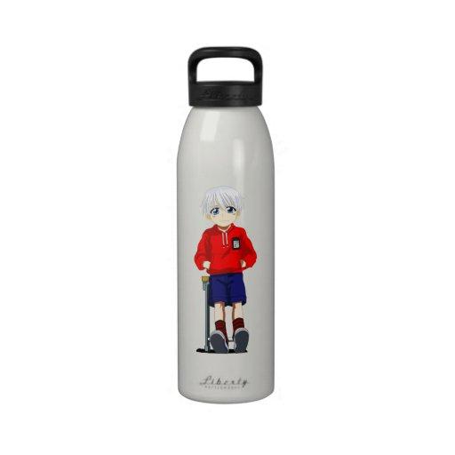 Anime Boy Water Bottle
