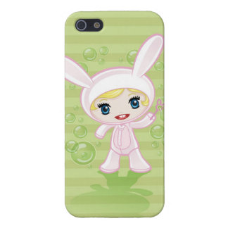 Anime Bunny Girl Case For iPhone 5