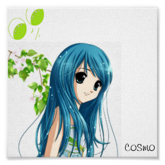 anime by cosmo poster