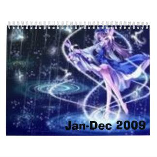 anime calender calendar