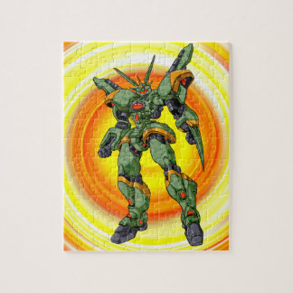 Anime Camo Robot Puzzle