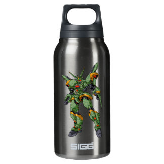 Anime Camo Robot 10 Oz Insulated SIGG Thermos Water Bottle