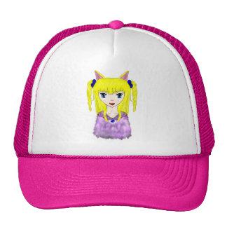 Anime Cat Girl Trucker Hat