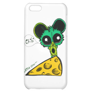 Anime Chibi Mouse and Cheese iPhone 5C Covers