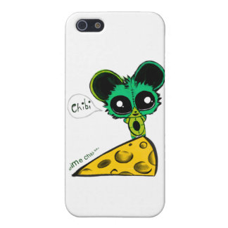 Anime Chibi Mouse and Cheese iPhone 5 Cover