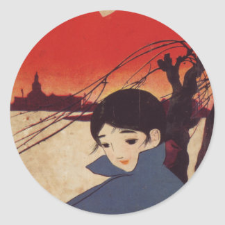 Anime Child Sticker