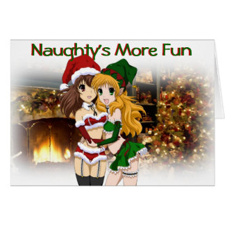 Anime Christmas Card