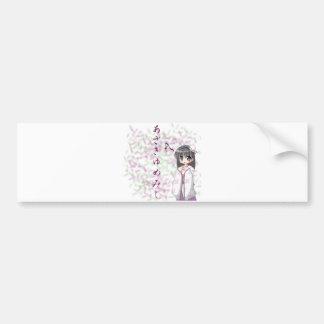 Anime - Continuation of a Dream Car Bumper Sticker