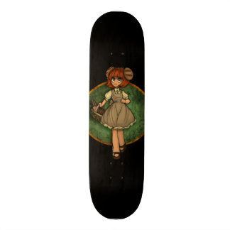 Anime Custom Girl Drawing Custom Skate Board
