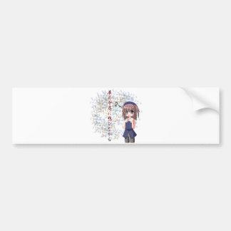 Anime - Deep enough to dream Bumper Sticker