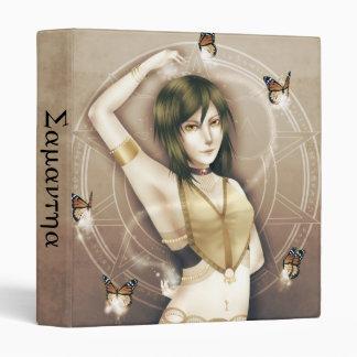 "Anime Desert Dancer 1"" Vinyl Binders"