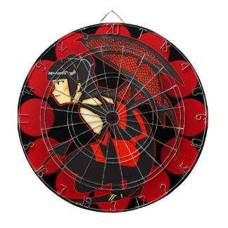 Anime Devil Girl Dartboard