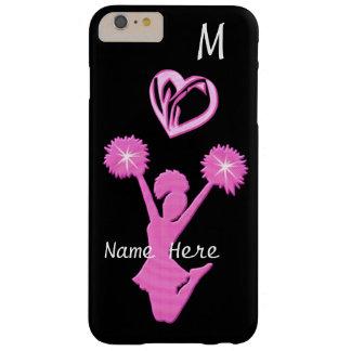 Anime el iPhone 6 casos más su nombre y monograma Funda Barely There iPhone 6 Plus