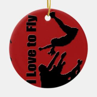 Anime el ornamento principal, Copyright Karen J Wi Ornamento Para Arbol De Navidad