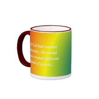 Anime el revés de la diversidad (sq) tazas de café