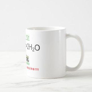 Anime el uso de la pila de combustible taza de café