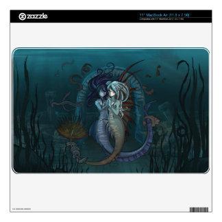 Anime Fantasy Mermaids Macbook Air Skin