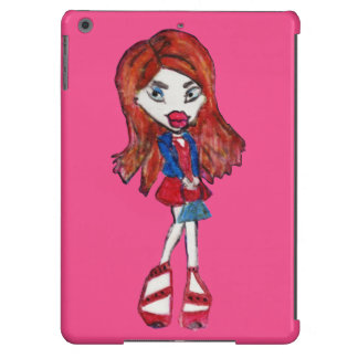 Anime Fashionista Girl Cover For iPad Air