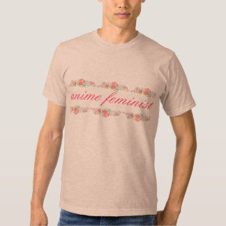 anime feminist shirt