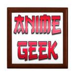 Anime Geek Red Gift Box