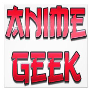Anime Geek Red Photo