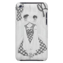 Anime Girl Case-Mate iPod Touch Case