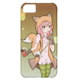 Anime Girl in Fox Cosplay iPhone 5C Covers
