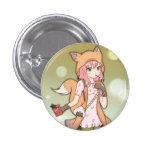 Anime Girl in Fox Cosplay Pin