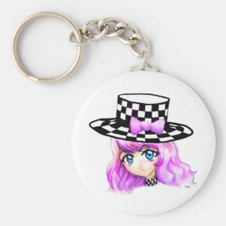 Anime Girl Manga Punk Lolita Harajuku Gothic Style Key Chains
