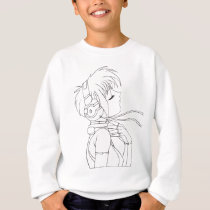 Anime Girl Sweatshirt
