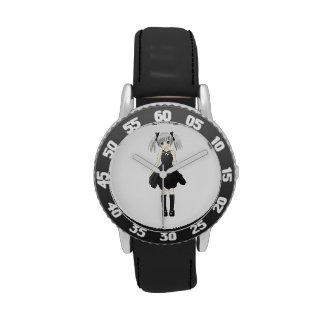 Anime girl wristwatch
