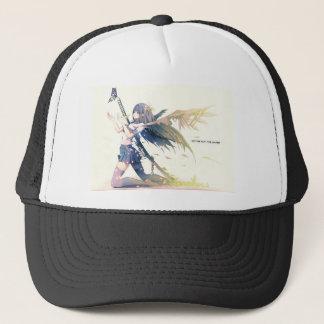 Anime girl with Katana Trucker Hat