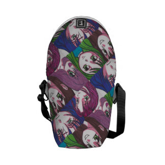 Anime Girls Bag Courier Bags