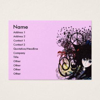Anime Girls - Business Card