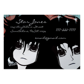 Anime Girls Business Card