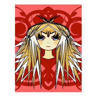 Anime Girls Gifts Postcard
