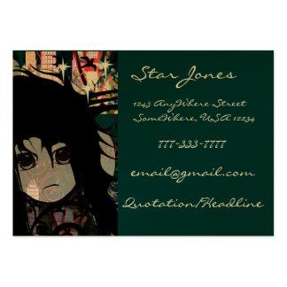 Anime Girls - Large Business Card