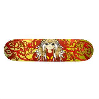 Anime Girls Skateboard