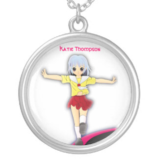 Anime Gymnastics Necklace