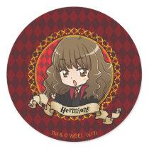Anime Hermione Granger Classic Round Sticker