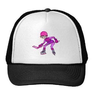 Anime Hockey Girl Trucker Hat