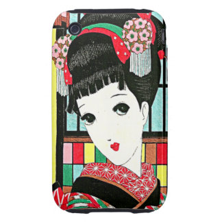Anime Japanese Beauty iPhone 3 Case